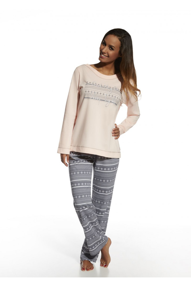 71e20198e3c83 Купить ▻ Пижама Cornette 655/102 Stars розово-графитовый | магазин ...